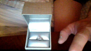 ENGAGEMENT RING OR PROMISE RING FROM PEOPLES JEWELLER