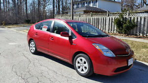 2008 Red Toyota Prius  Very clean winter stored low kms
