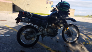 KLR 650 with second set of rims/tires