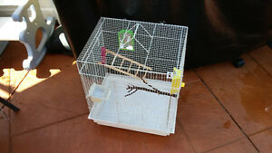 BIRD CAGE WITH ACCESSORIES EXCELLENT CONDITION