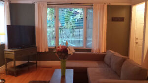 Furnished 1 bed 1bath, North Vancouver, 1800, avail Nov