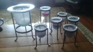 candle holders Sarnia Sarnia Area image 1
