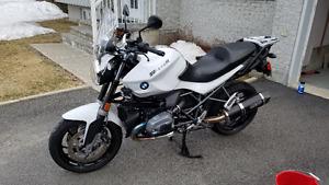 BMW R1200R 2014 Dark White