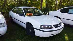 2005 Chevrolet Impala ex police cruiser