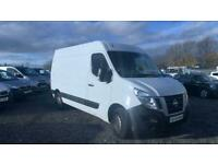 WHITE NISSAN NV400 2.3 DCI SE H/R P/V 125 BHP DIESEL **FROM £197 PER MONTH**
