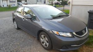 Honda Civic  LX 2013 manuelle