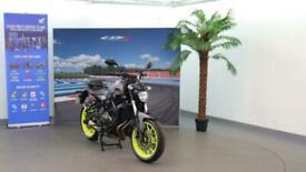 2018 Yamaha MT-07 700 ABS (35kw) Naked Naked Petrol Manual