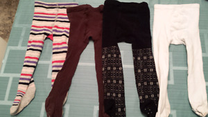 size 3T girl tights