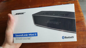 New in Box - BOSE Soundlink Mini II (2) , Wireless Speaker