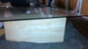 Contemporary Glass and Stone Table - Reduced to Sell Cambridge Kitchener Area image 4