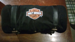 Harley Davidson travel pack with 8 pouches