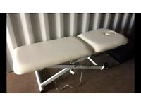 Electric massage beauty bed plinth