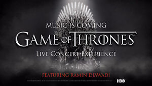 GAMES OF THRONE CENTRE BELL 3 MARS EXCELLENTS BILLETS