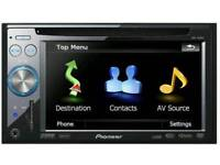 Pioneer in car touchscreen gps btooth aux dvd player