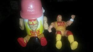 Autographed Hulk Hogan cup cooler and squirt gun figure London Ontario image 1
