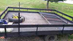 Utility trailer safety and is registered under my name