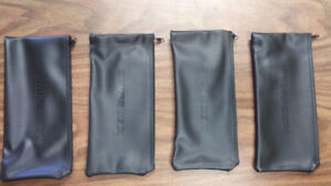 4 Leather Pouches