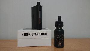 Vaporisateur électronique Nebox avec accessoires