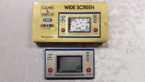 Vintage Nintendo Game & Watch Fire Alarm Console Boxed