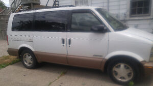 1999 Chevrolet Astro Minivan, Van  /trade for hardtop