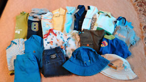 Lot of size 6-12 mos summer clothing
