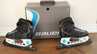 NEW ICE SKATE - PATIN A GLACE - BAUER HOMME/MEN SIZE 10