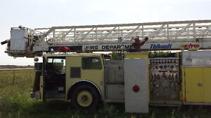 Fire truck, pumper, 105 ft boom lift, $7,500 finder's fee pd ! Prince George British Columbia image 3