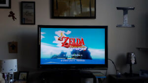 Zelda Wii U Wind Waker Edition and lots of games.