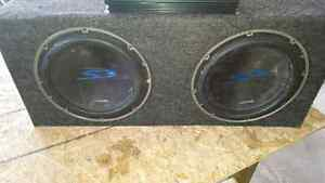 Alpine 12s with amp!!!