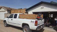 Dump runs, Power Washing, Landscape Supplies, Deck Repair