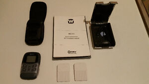 WIDEX HEARING AID REMOTE CONTROL RC4-1 & ACCESSORIES