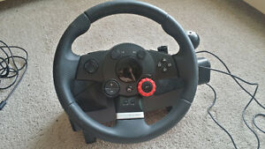 Logitech Driving Force GT racing wheel