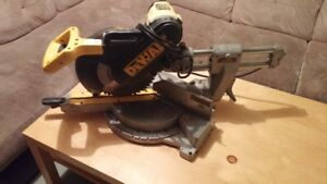 "Dewalt 12"" compound miter saw DW708 for sale"