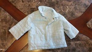 Boys 6-9 mos light blue jacket