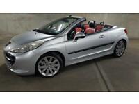 TOTALLY OUTSTANDING.2007 PEUGEOT 207 CC GT.FULL LEATHER INTERIOR.