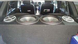 """mtx 9500 15"""" subs."""