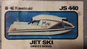 Kawasaki Jet Ski Owners Manual