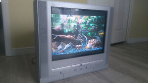 ******** JVC TV with Built-in DVD Player  ********