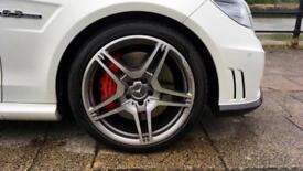 2011 Mercedes-Benz E-Class Saloon E63 AMG with over 14000 of fac Automatic Petro