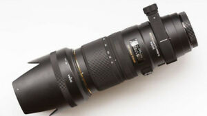 mint sigma EX 70 200 2.8 DG HSM OS telephoto lens for nikon