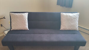 Kebo Futon Black Sofa Bed - Mint condition