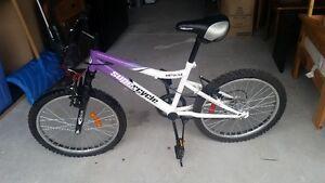 "Girl's 20"" bike"