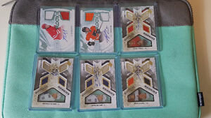 Upper Deck SPX Dual Jersey Auto Rookie Cards - Please see list.