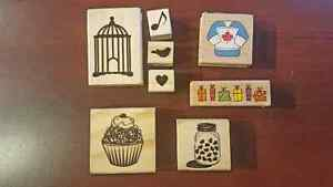 Clear Stamps sets and Acrylic blocks Strathcona County Edmonton Area image 7