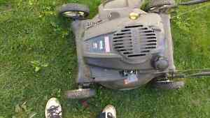 Gas powered mower Belleville Belleville Area image 1