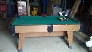 cooper pool table