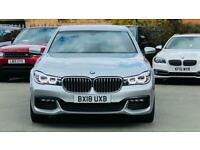 2018 BMW 7 Series 3.0 730Ld M Sport Auto (s/s) 4dr Saloon Diesel Automatic