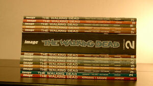 The Walking Dead Graphic Novels Vol.1-21 w/Rise of the Gov.