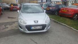 Peugeot 308 1.6HDi ( 92bhp ) FAP Access 5 DOOR - 2012 62-REG FULL 12 MONTHS MOT