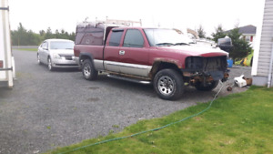 2005 gmc Sierra 1500 parting out
